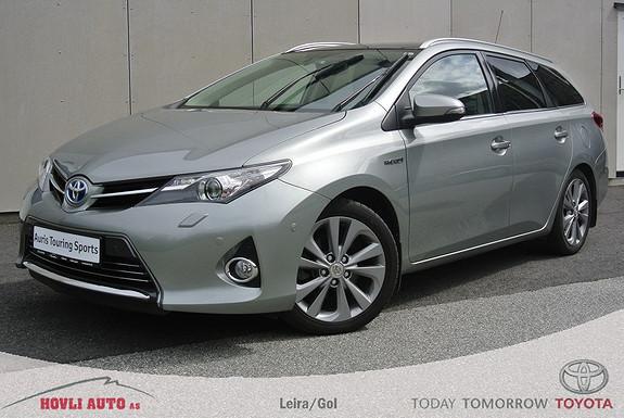 Toyota Auris 1,8 Hybrid Executive HSD Panoramatak - Garanti 2018 - Bi-Xenon - 2,95% rente  2013, 60498 km, kr 229900,-