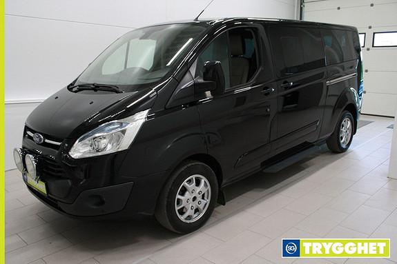 Ford Tourneo Custom 2,2 TDCi 125 hk ,8 seter,aircondition,cruise,tlf,parksensorer,krok,8 alu,