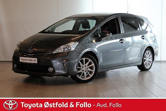 Toyota Prius+ Seven 1,8 VVT-i Hybrid Premium  2013, 78520 km, kr 259000,-
