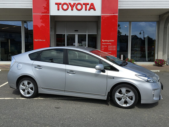 Toyota Prius 1,8 VVT-i Plug-in Hybrid Premium  2013, 30228 km, kr 259000,-