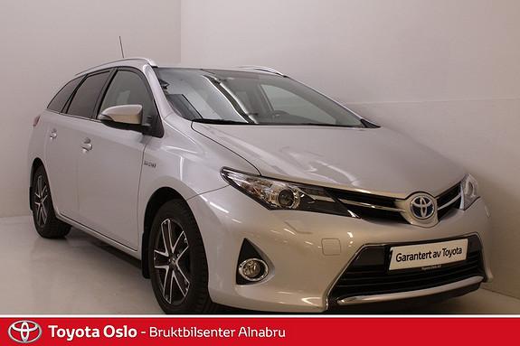 Toyota Auris Touring Sports 1,8 Hybrid Active+ DAB +, Navi, Ryggekamera,  2014, 42637 km, kr 259900,-