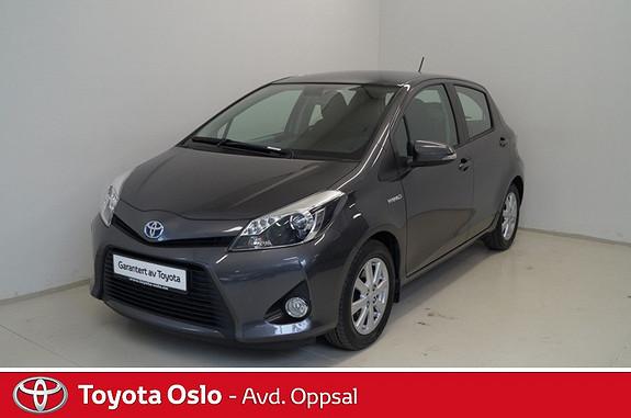 Toyota Yaris 1,5 Hybrid Active Ryggekamera og navigasjon  2013, 33912 km, kr 179900,-