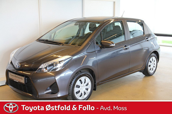 Toyota Yaris 1,5 Hybrid Active e-CVT  2014, 31344 km, kr 179000,-