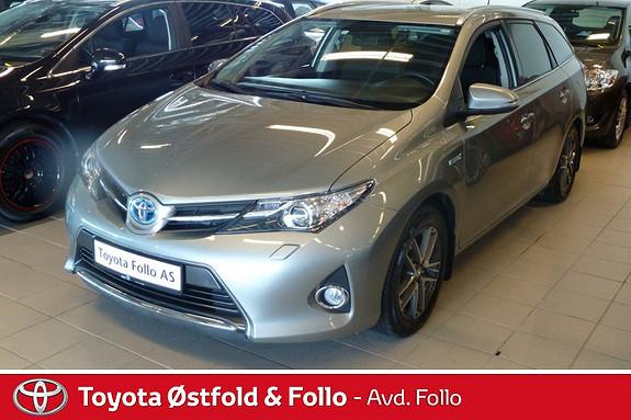 Toyota Auris Touring Sports 1,8 Hybrid Active+  2014, 32977 km, kr 249000,-