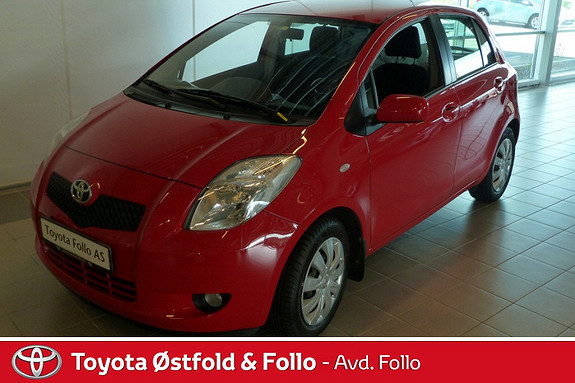 Toyota Yaris 1,3 Sol Sprint m/ klimaanlegg  2008, 61553 km, kr 99999,-