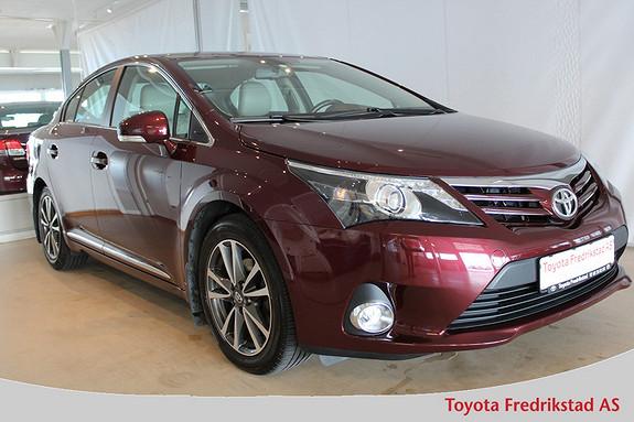 Toyota Avensis 1,6 132hk Executive , Pen bil, Lav km, Ryggekamera  2013, 43100 km, kr 219000,-