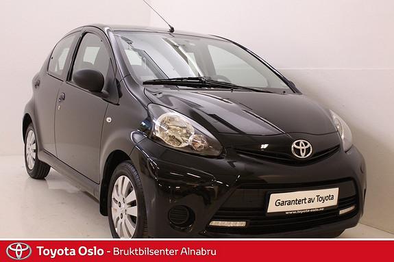 Toyota Aygo 1,0 5-d lav kilometer  2013, 24794 km, kr 102900,-