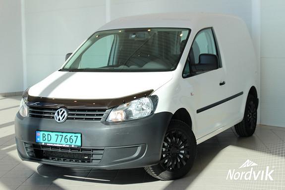 Volkswagen Caddy 1.6 75 TDI som er meget stilig og godt tatt vare på  2012, 97400 km, kr 105000,-