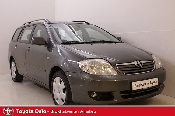 Toyota Corolla 1,6 Sol aut Hengerfeste, Park Sensor, Cruise Control,  2005, 167750 km, kr 84900,-