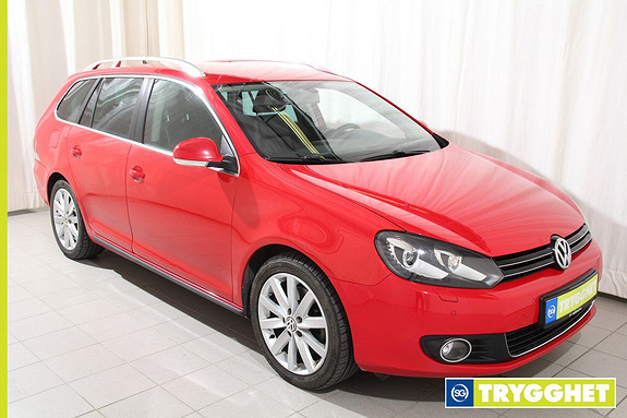 Volkswagen Golf 1,6 TDI 105hk Exclusive 4MOTION