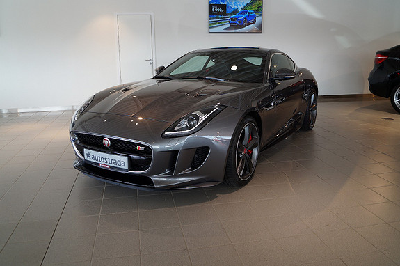 Jaguar F-TYPE 3.0 V6 S Supercharged 380 hk Coupé  2016, 700 km, kr 1 596 000,-