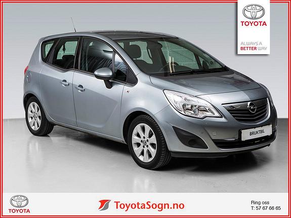 Opel Meriva 1,4 Bensin  2011, 52900 km, kr 119000,-