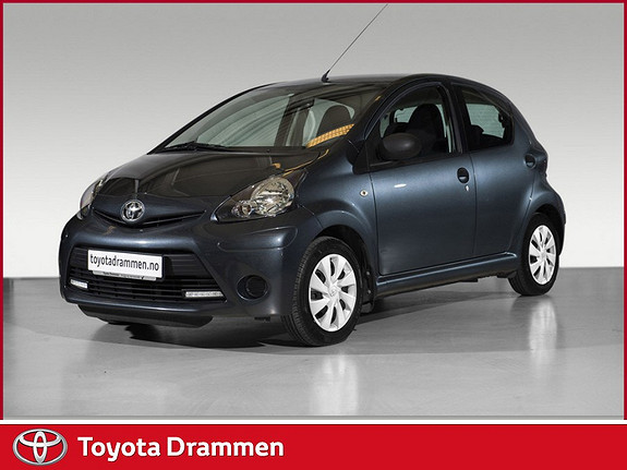 Toyota Aygo 1,0 5-d  2013, 45100 km, kr 99000,-