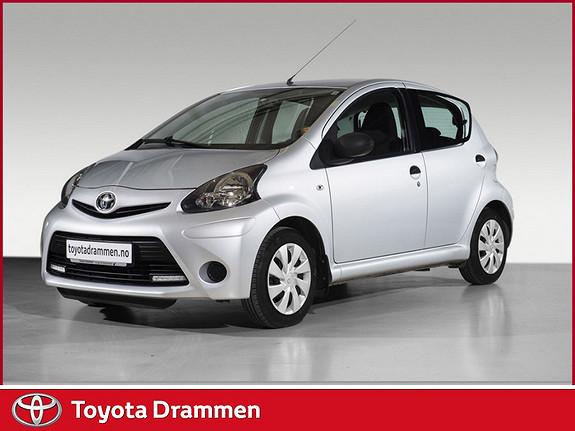 Toyota Aygo 1,0 5-d  2013, 39800 km, kr 99000,-