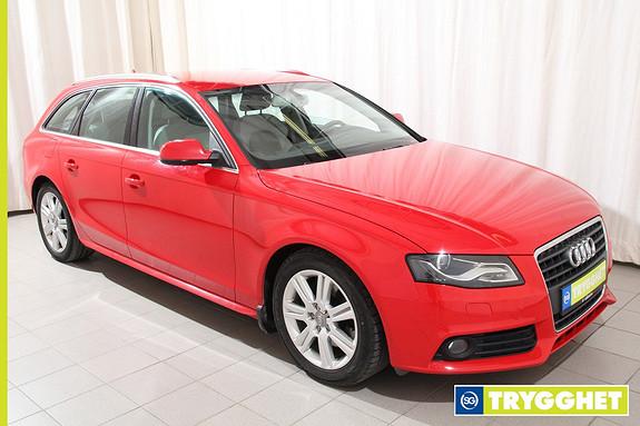 Audi A4 2,0 TDI 170 hk Cruise/sportspk/Navi/Hengerfeste+++