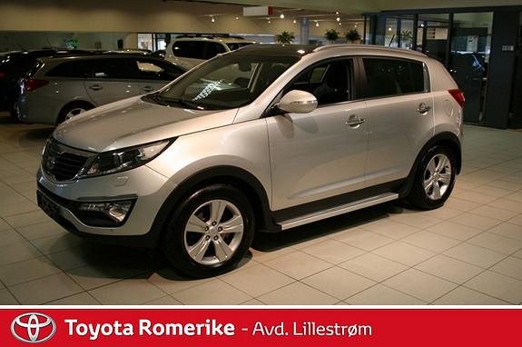 Kia Sportage 1,7 CRDi ISG Exclusive 2WD  2012, 52546 km, kr 219000,-
