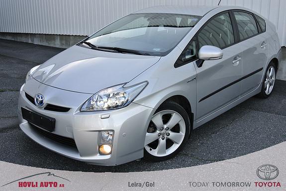Toyota Prius 1,8 VVT-i Hybrid Executive  / lav km.stand,/ skinninteriør / navi og ryggekamera /  2012, 50300 km, kr 199000,-