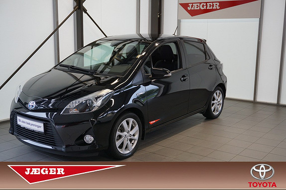 Toyota Yaris 1,5 Hybrid Style  2012, 36400 km, kr 179000,-