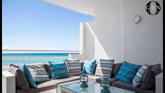 Fantastisk leilighet på stranden i Altea