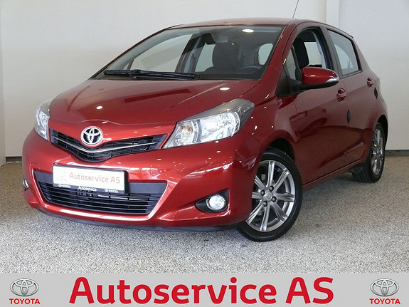 Toyota Yaris 1,33 Style  2012, 42000 km, kr 179000,-