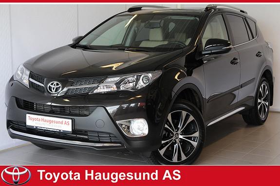 Toyota RAV4 2,0 4WD Executive aut Premium, skinn, navi, kamera, Bluetooth, cruise, 18