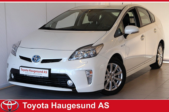 Toyota Prius 1,8 VVT-i Hybrid Executive Skinn, navi, Xenon, Bluetooth, HeadUp, cruise, kamera  2012, 63147 km, kr 199900,-