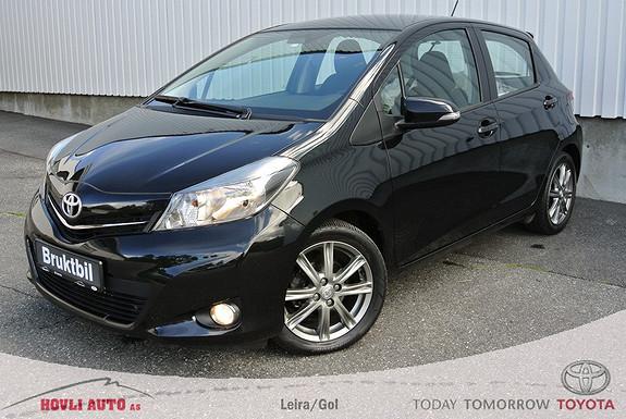 Toyota Yaris 1,33 Active Multidrive S (automat), navigasjon, piggfrie vinterdekk, nybilgaranti.  2013, 38850 km, kr 169000,-