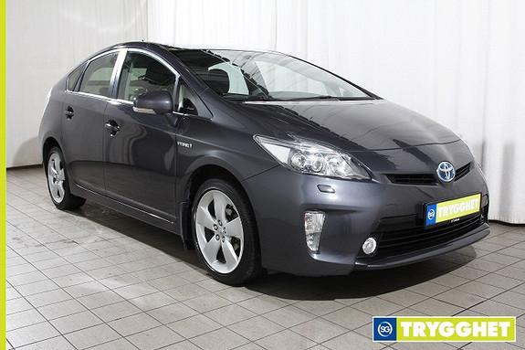 Toyota Prius 1,8 VVT-i Hybrid Advance med LED n�rlys HUD-Navi-R.kamera-Keyless-Cruise-Delskinn