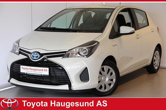 Toyota Yaris 1,5 Hybrid Active e-CVT Navigasjon, ryggekamera, 2-sone klima, tectyl, Bluetooth  2014, 27989 km, kr 189000,-