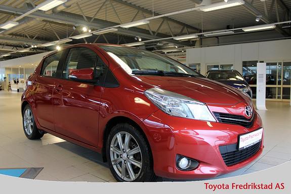 Toyota Yaris 1,33 Style 1 Eier, 53500km, ryggekamera,  2012, 53500 km, kr 149000,-