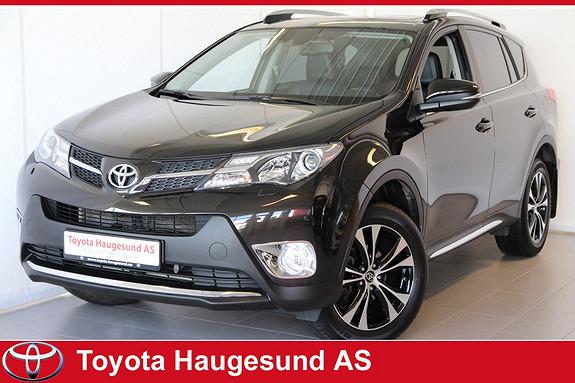 Toyota RAV4 2,0 4WD Executive CVT Premium, soltak, navi, JBL, kamera, Bluetooth, +++ Tectylert  2015, 46688 km, kr 429000,-