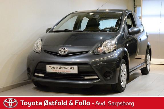 Toyota Aygo 1,0 + 5-d , AC / LED KJØRLYS,  2013, 15858 km, kr 108000,-