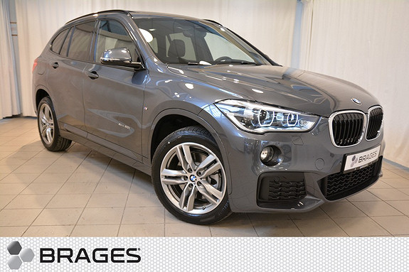 BMW X1 20i 192HK TURBO BENSIN XDRIVE AUT NORSK HEAD-UP NAVI KROK ACTIVE CRUISE++  2016, 3 900 km, kr 645 000,-