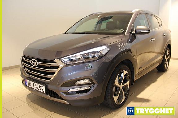 Hyundai Tucson 2.0 CRDI Teknikkpakke / Demobil / Navi / Skinn / Kamera /