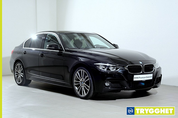 BMW 3-serie 330e iPerformance aut -Mpakke-Navi Pro-Active Cruise-HarmanKardon-Kamera++