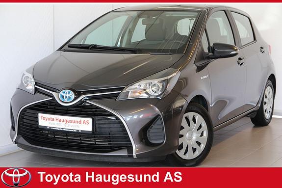 Toyota Yaris 1,5 Hybrid Active Navigasjon, ryggekamera, autoklima, Bluetooth - tectylert  2015, 48018 km, kr 195000,-