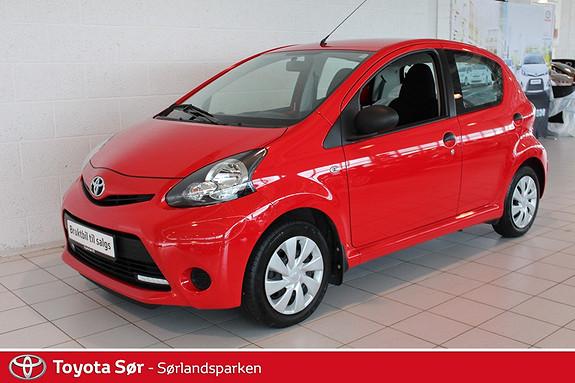 Toyota Aygo 1,0 5-d  2013, 40000 km, kr 89000,-