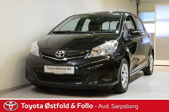 Toyota Yaris 1,33 Active Multidrive S , RYGGEKAMERA / BLUETOOTH,  2013, 38500 km, kr 158000,-