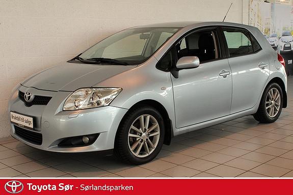 Toyota Auris 1,4 D-4D Sol M/Hengerfeste  2008, 88000 km, kr 109000,-
