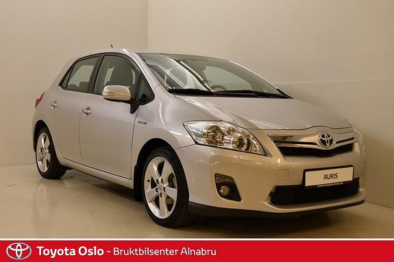 Toyota Auris 1,8 Hybrid E-CVT Executive Ryggekamera, Keyless,  2011, 30657 km, kr 174900,-