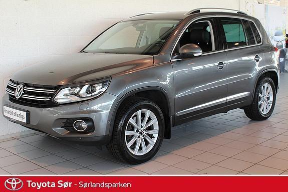 Volkswagen Tiguan 2,0 TDI 140hk 4M Sport & Style DSG Panoramatak, skinnseter, DSG, hengerfeste  2012, 104000 km, kr 299000,-