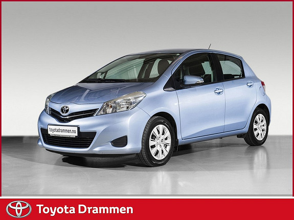 Toyota Yaris 1,33 Active  2013, 33900 km, kr 159000,-