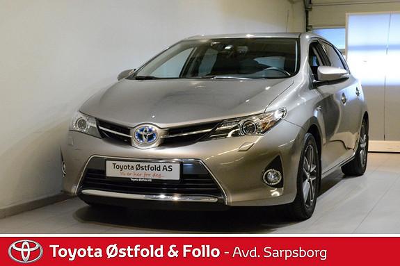 Toyota Auris 1,8 Hybrid E-CVT Active+ , INNTIL 10 ÅRS HYBRIDBATTERI GARANTI,  2015, 20100 km, kr 268000,-