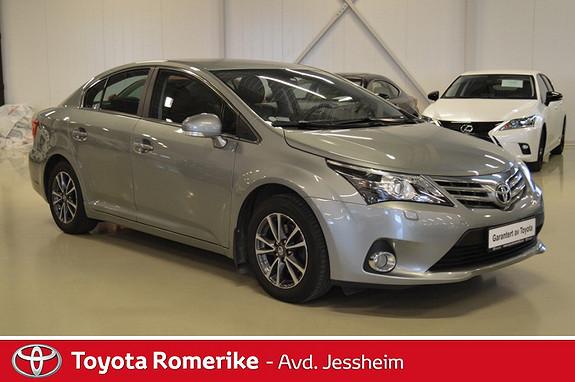 Toyota Avensis 2,0 D-4D 124hk Executive Skinn  2012, 46300 km, kr 209000,-
