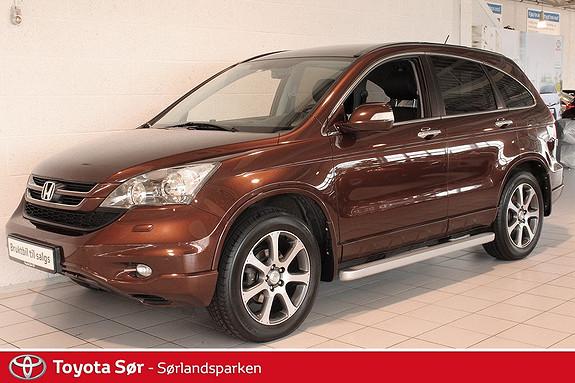 Honda CR-V 2,2 i-DTEC Executive 4WD Panoramatak, Hengerfeste, Skinnseter  2012, 41000 km, kr 299000,-