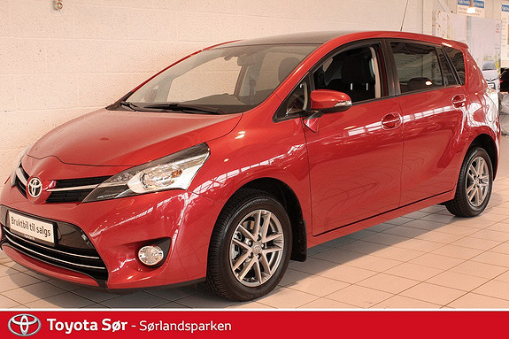 Toyota Verso 1,8 Valvematic Active+ Multidrive S 7s Panoramatak, Bensin/Automat  2016, 7000 km, kr 369000,-