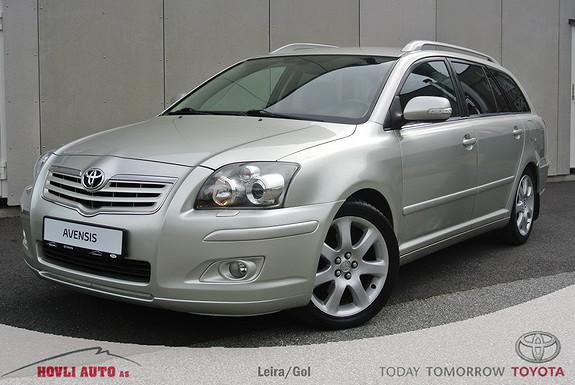 Toyota Avensis 2,0 D-4D Executive m/DPF Tectlyert -H.feste - Skinnseter - Xenon -Garanti  2007, 159245 km, kr 99900,-