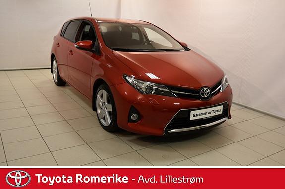 Toyota Auris 1,33 Dual VVT-i Style  2015, 15074 km, kr 240000,-