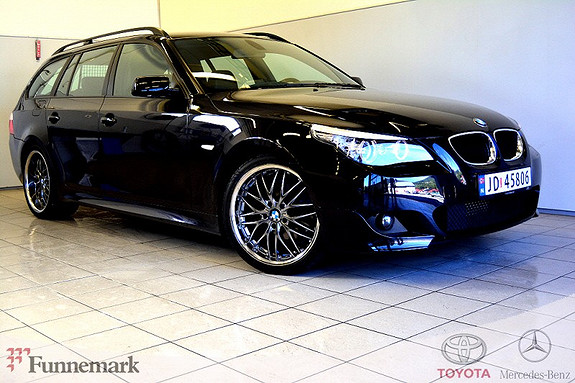 BMW 5-serie 520d Touring M sport Lav km, særs velholdt.