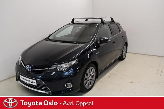 Toyota Auris 1,8 Hybrid E-CVT Executive , Panorama glasstak,  2013, 35547 km, kr 234900,-